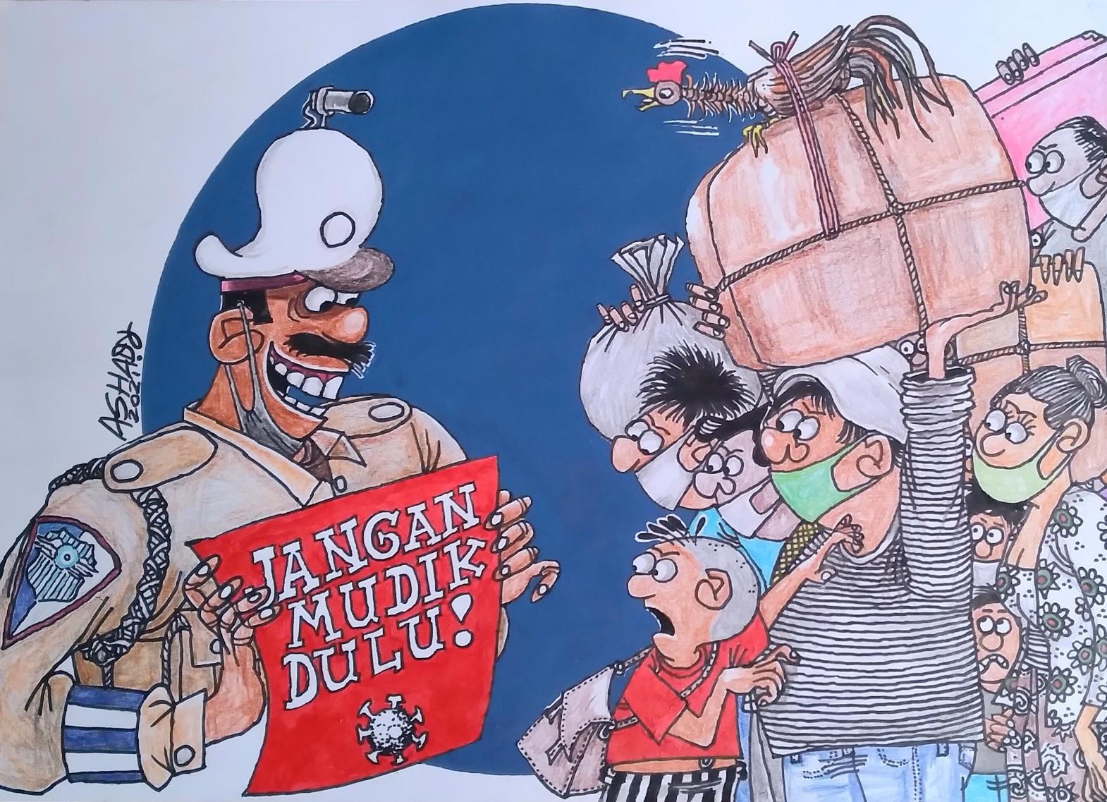 Tertunda Lagi. Karikatur oleh Ashady - JPNN.com