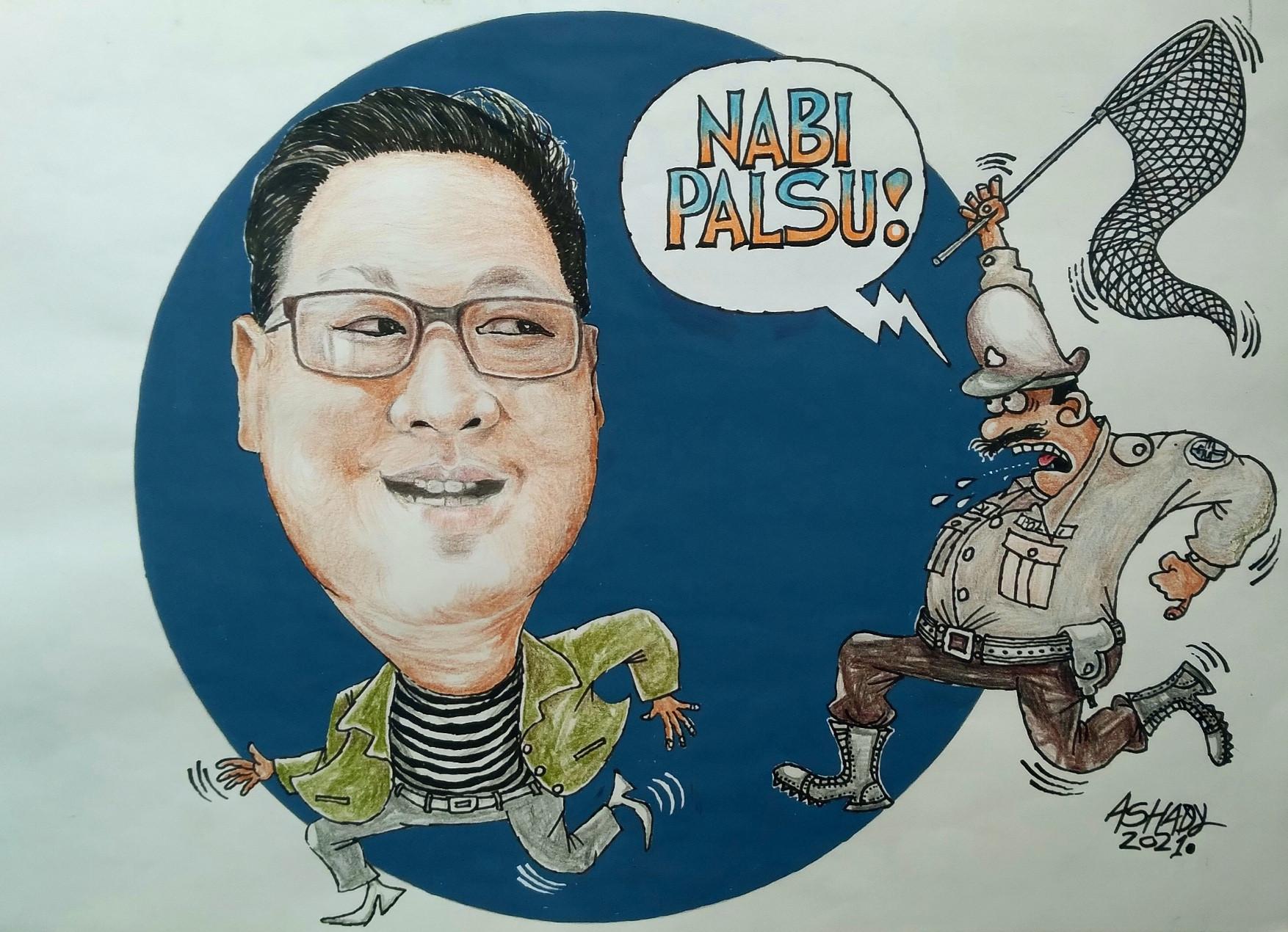 Nabi Palsu. Karikatur oleh Ashady - JPNN.com