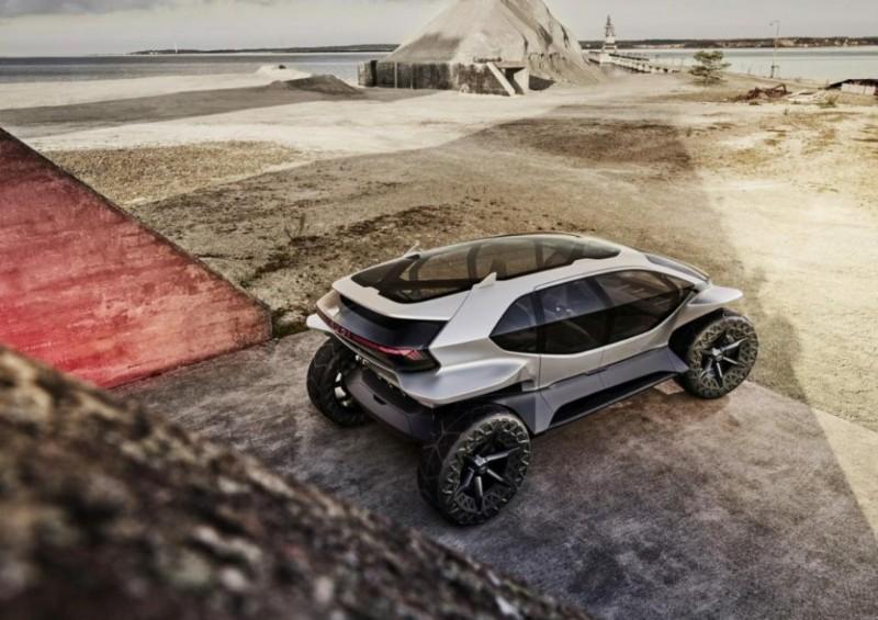 Mobil Listrik Offroad Berteknologi Otonom Milik Audi Guncang Frankfurt