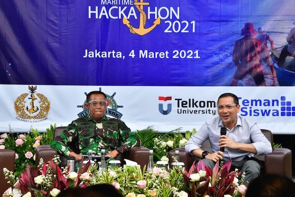 Tingkatkan PPKM, TNI AL Ajak Generasi Muda Sukseskan Program Maritime Hackathon