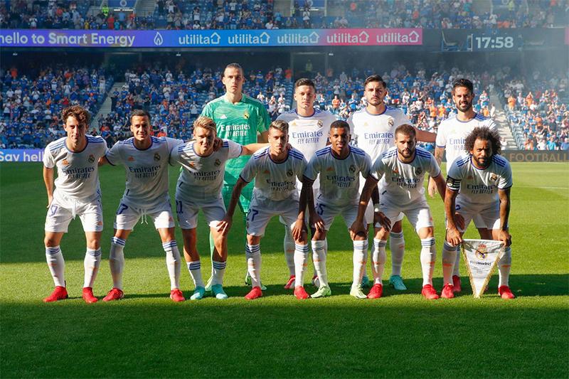 Diwarnai Kartu Merah, Real Madrid Takluk di Tangan Rangers