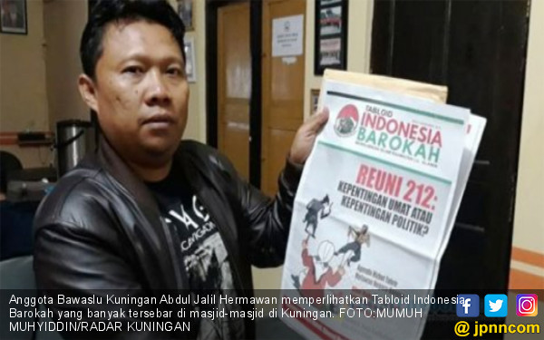 Dewan Pers Sudah Telepon Redaksi Tabloid Indonesia Barokah, Hasilnya?