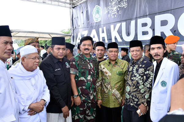 Panglima TNI Berterima Kasih kepada Santri dan Pendekar