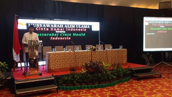 MCM Indonesia Tolak Ajakan Ijtimak untuk Kepentingan Politik Praktis