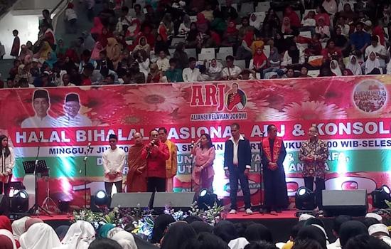 Santuni 10 Ribu Anak Yatim dan Duafa, ARJ Bakal Kawal Program Jokowi