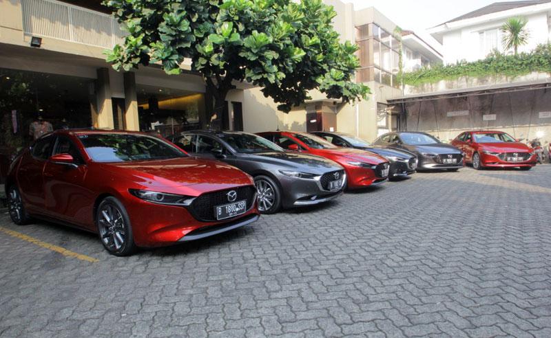 Mazda3 Terbaru Resmi Menyapa Publik di GIIAS 2019