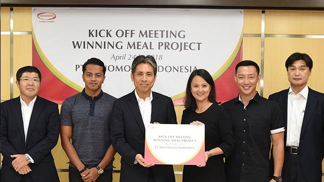 Winning Meal Project,Cara Ajinomoto Dongkrak Prestasi Atlit Indonesia