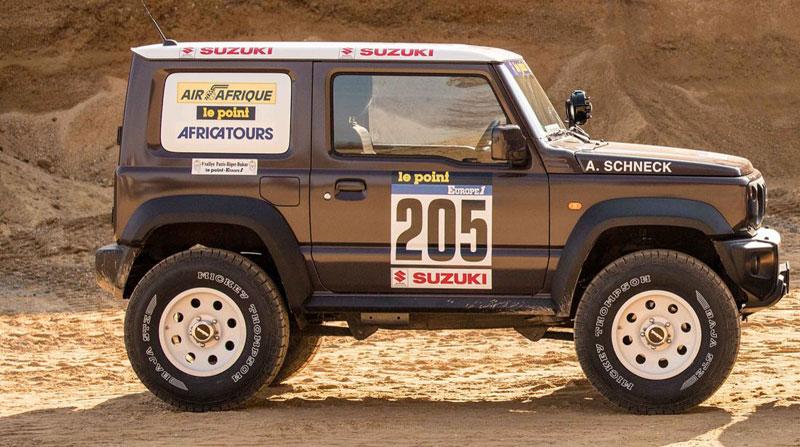 Suzuki Jimny Terbaru Diracik untuk Menaklukkan Olahraga Paling Ekstrem