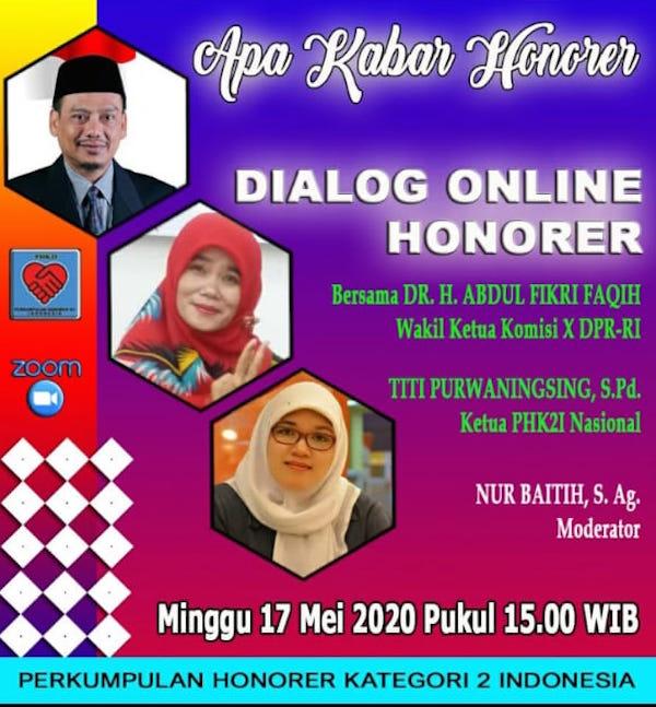 Honorer K2 Rapat Daring dengan Komisi X DPR RI, Hasilnya Menggembirakan