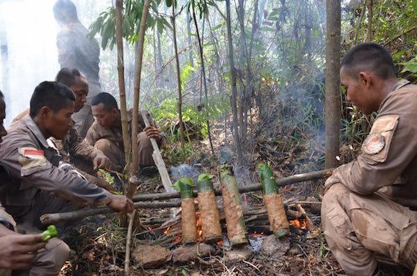 Paramiliter Bakamla Latihan Berganda, Hati-hati dengan Binatang Buas