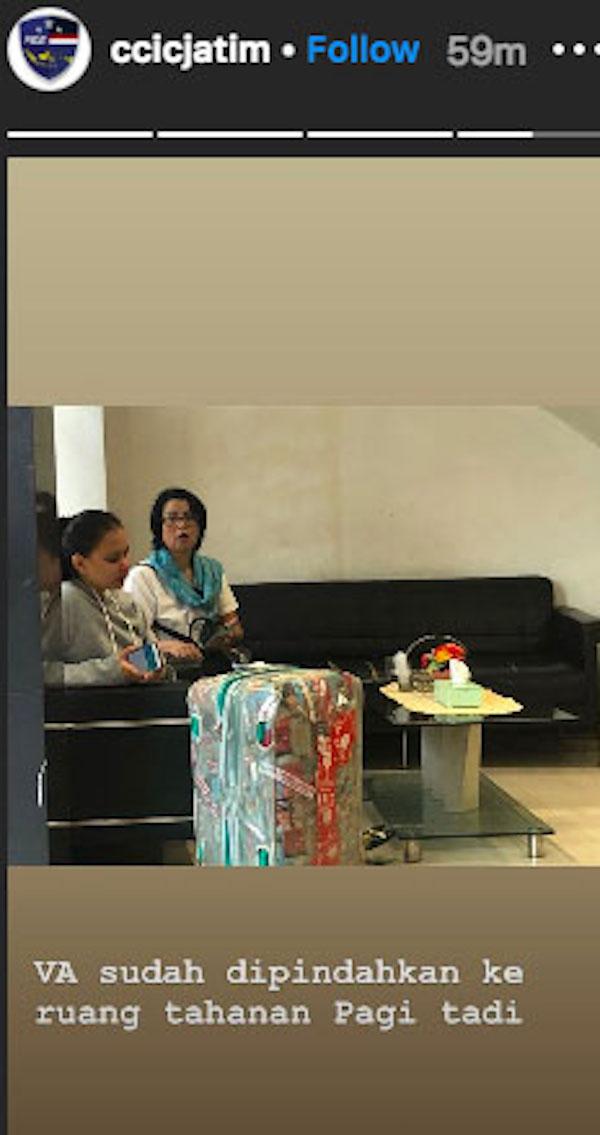 Vanessa Angel Sudah Dipindahkan ke Rutan Polda Jatim, Nih Buktinya