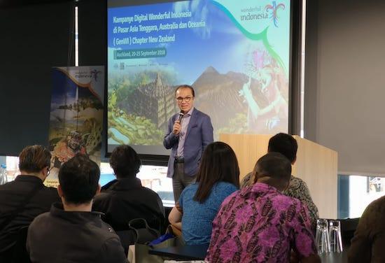 Ikhtiar Kemenpar & Tantowi Gaet Turis New Zealand via GenWI
