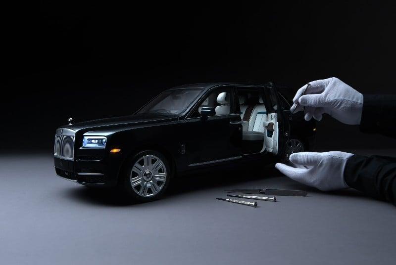 Miniatur Rolls-Royce Cullinan Sapa Kolektor Dunia, Harganya?