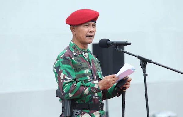 Di Hadapan 338 Personel Pasukan Khusus TNI, Mayjen Richard Bilang Begini, Tegas!