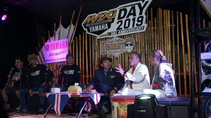 JMC Larut dalam Kehangatan Ride n Camp MAXI Yamaha Day di Cikole