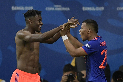 Kolombia Beri Pil Pahit Buat Argentina di Copa America 2019