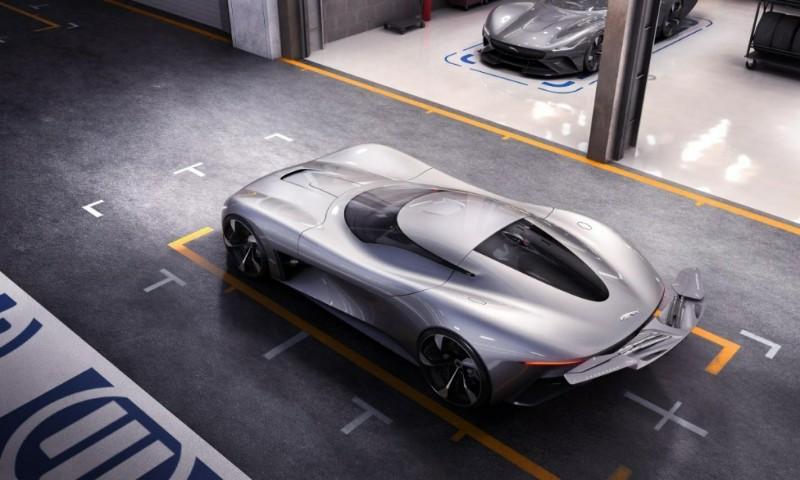 Edan! Sportscar Listrik Jaguar Ini Bisa Tembus 100 Kpj di Bawah 2 Detik