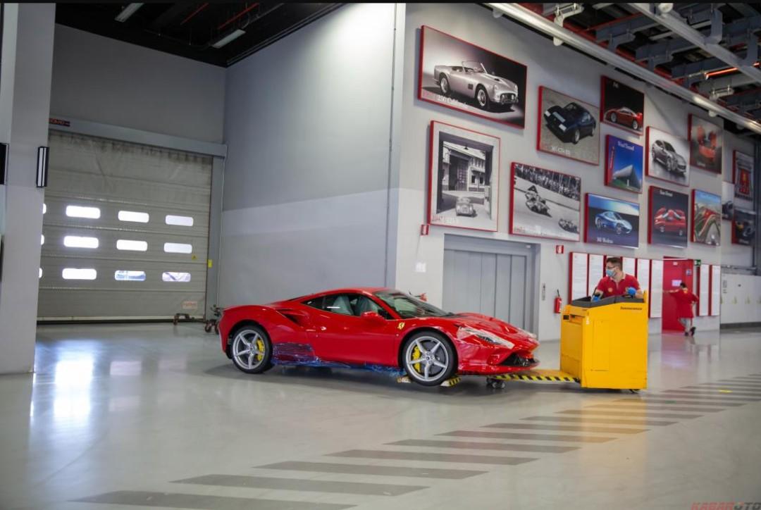 Model Pertama Ferrari yang Lahir Sejak Pabrik Ditutup Sementara