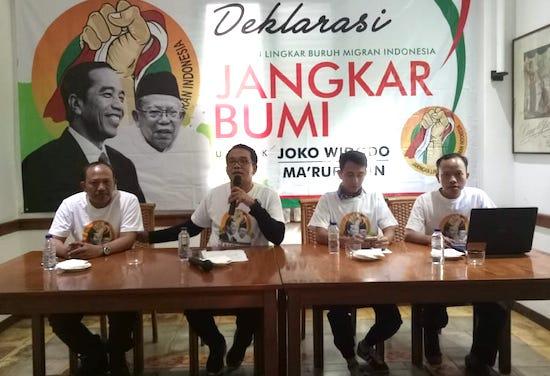 Pak Jokowi, Ini Ada Dukungan dan Harapan dari Jangkar Bumi