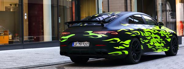 Menanti Sedan Mercedes Benz AMG GT Terkencang