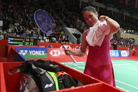 Senyum Manis Ratchanok Intanon Usai Dapat Tiket 8 Besar Indonesia Masters
