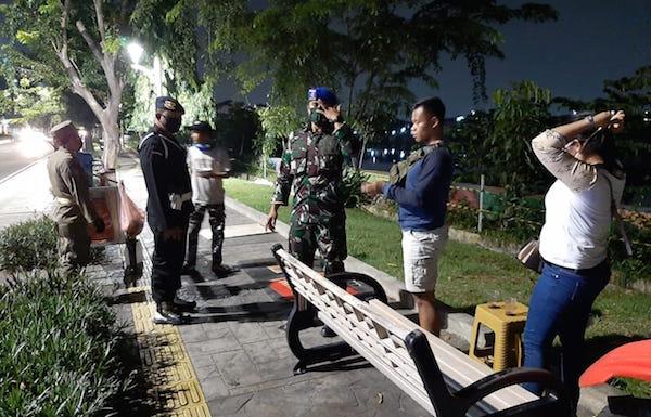 PSBB Hari Kedua, Jakarta Utara Gelar Patroli Gabungan, Hasilnya?