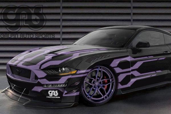 Modifikasi Mustang GT Bersiap Getarkan Las Vegas