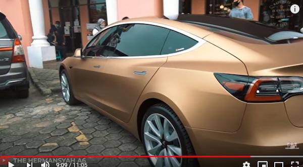 Geber Tesla Model 3 Ashanty Gila Enak Banget Jpnn Com