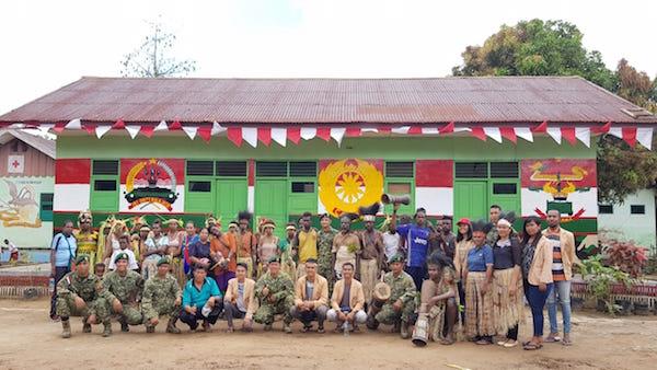 Gelar Kirab Keliling Kampung Rawabiru untuk Memperingati HIMAS