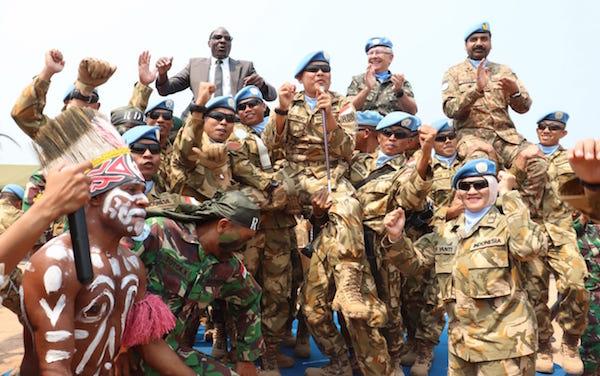 850 Prajurit TNI Dapat Medali Kehormatan PBB