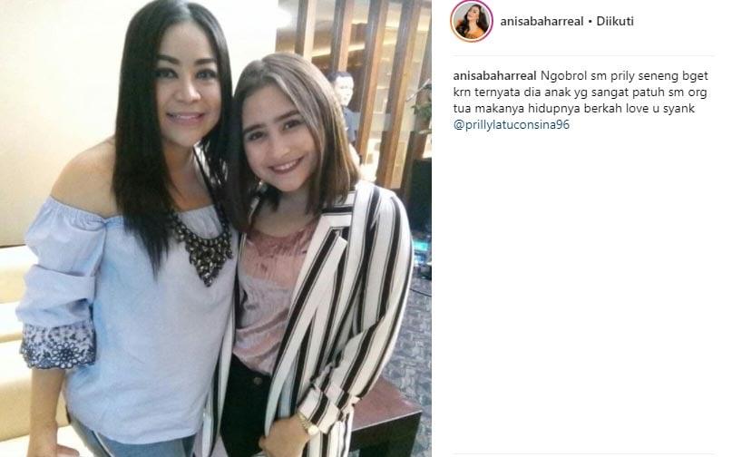 Sebut Prilly Anak Berbakti, Anisa Bahar Sindir Juwita?
