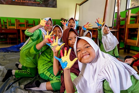 Lelah tapi Seru, Anak Hebat Anak Indonesia Sapa MIN 6 Tangerang