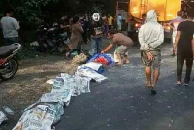 Kecelakaan Maut Bus Rosalia Indah vs Truk Tangki CPO, 13 Orang Tewas