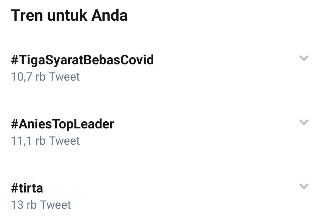Tiba-Tiba Tagar Anies Baswedan Ramai di Twitter, Ada Apa?