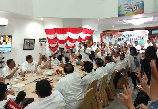 Bravo! Para Purnawirawan TNI Langsung Bergerak Amankan Kemenangan Jokowi