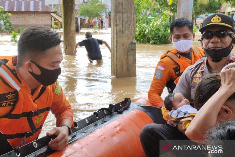 Alhamdulillah, Puluhan Warga Berhasil Diselamatkan, Ada Bayi hingga Lansia