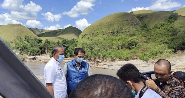 Azis Syamsuddin Minta Pemerintah Segera Perbaiki Bendungan Kambaniru di Sumba Timur