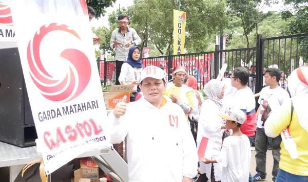 Konser Putih Bersatu: Azrul Tanjung Ikut Kerahkan Massa