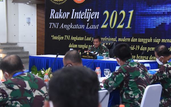 Komunitas Intelijen Harus Mampu Menjaga Muruah TNI AL