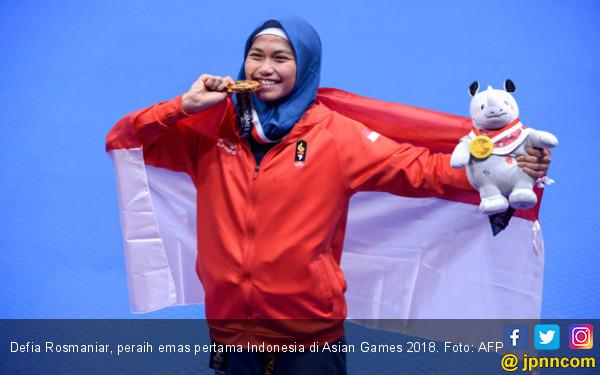Emas Pertama Indonesia: Ibunda Defia Sempat tak Setuju