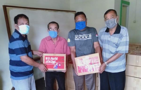 RBFJ Bagikan 1.950 Paket Sembako Kepada Para Buruh di Wilayah Bogor