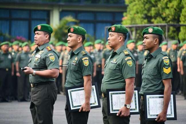 Tiga Prajurit Penangkap Prada DP Pemutilasi Sang Pacar Dapat Penghargaan dari Pangdam