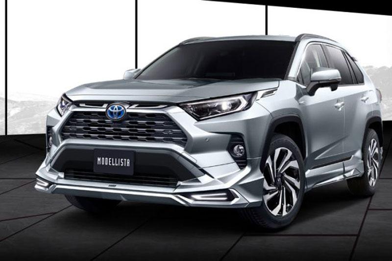 Paket Kustomisasi dari TRD dan Modellista Untuk Toyota RAV4 2019
