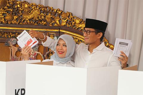 Menggemaskan, Sandiaga Uno Bikin Nur Asia Tertawa