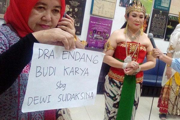 Endang Budi Karya Ajak Generasi Muda Lestarikan Wayang Orang