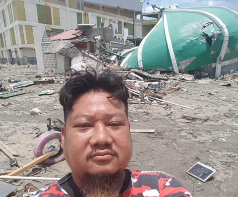 Cerita Pilu Ki Kusumo Sepulang dari Sulteng, Oh Anak Itu