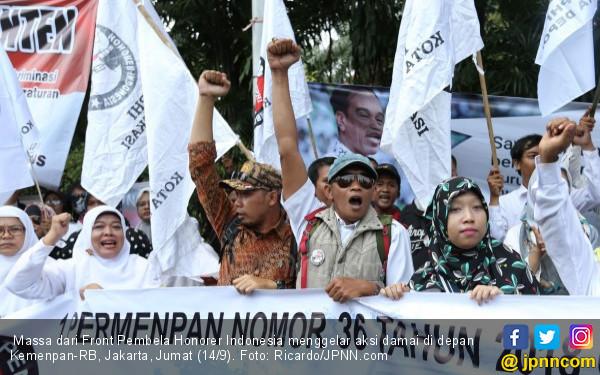 Pak Jokowi, Masih Adakah Harapan untuk Honorer K2 Tua?