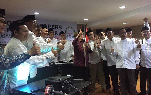 MCM Indonesia Ajak Umat Islam Pilih Jokowi - Ma'ruf
