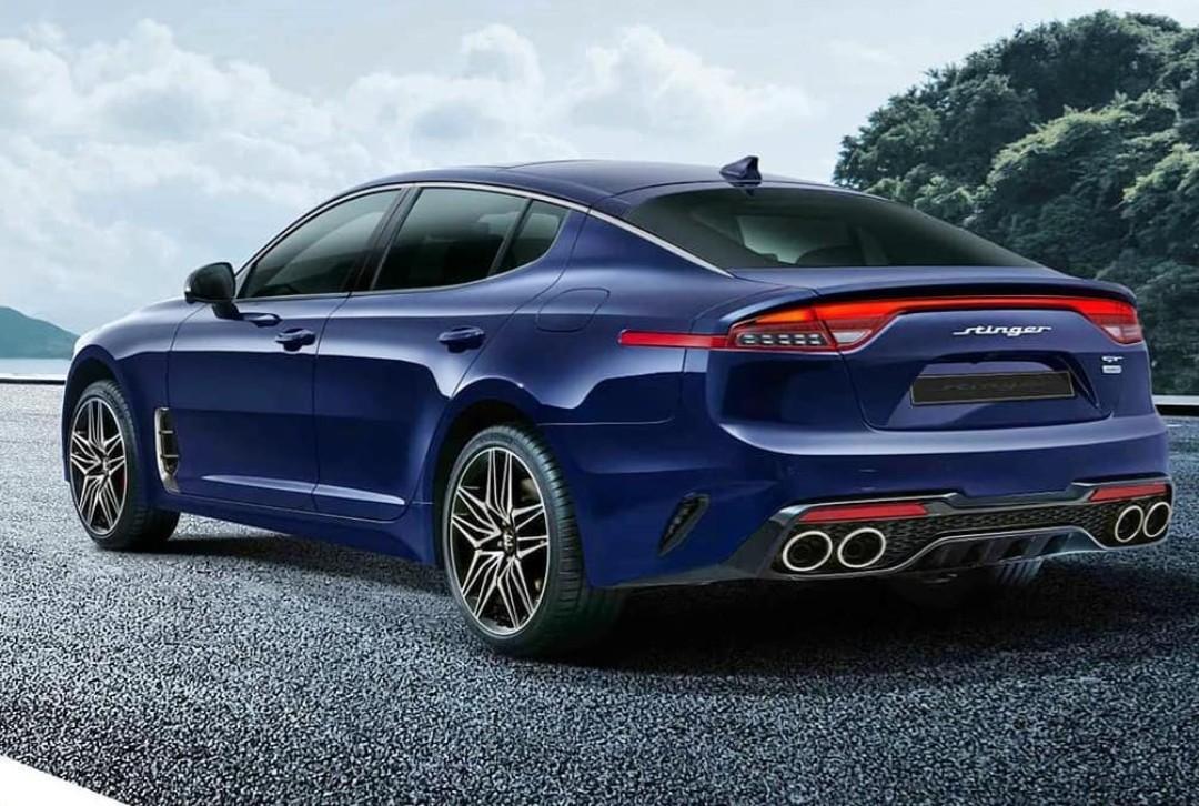 Penampakan Pertama Kia Stinger Facelift