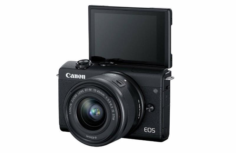 Kamera Mirrorles Canon EOS M200 Sudah Diberkati Teknologi Digic 8